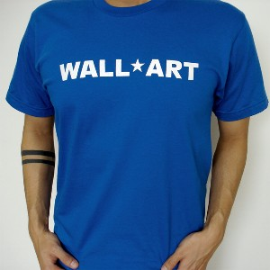 Wall Art Men's Fine Jersey Short Sleeve T Shirt Royal Blue